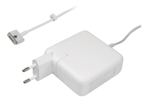 APPLE Magsafe 2 60W AC Adapter for Apple Macbook Pro, 16.5V, 3.65A, white